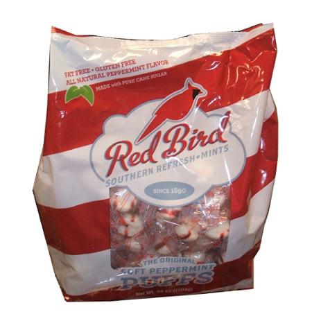 Red Bird Peppermint Puffs, (Pack of 240)
