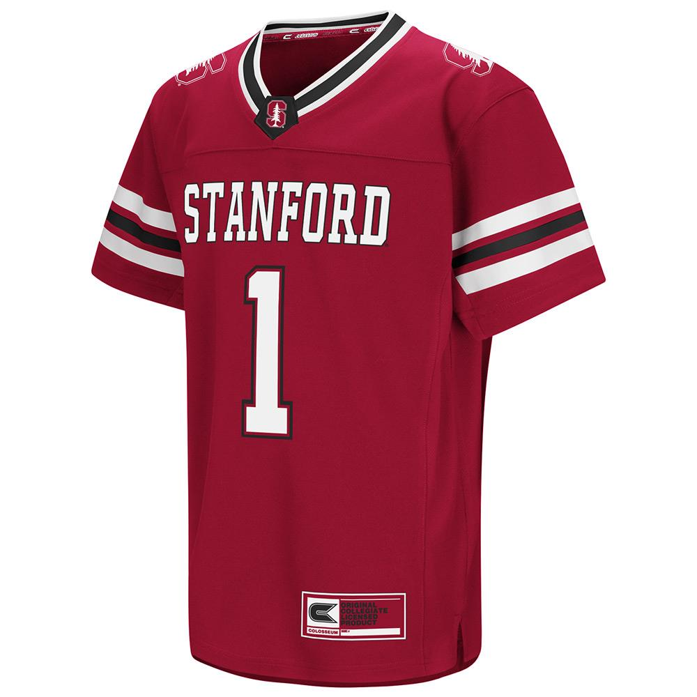 Youth NCAA Stanford Cardinal Football Jersey (Team Color)