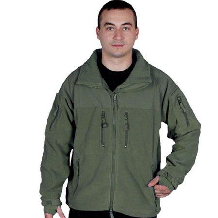 - Enhanced Fleece Tactical Jacket, Olive Drab - Small
