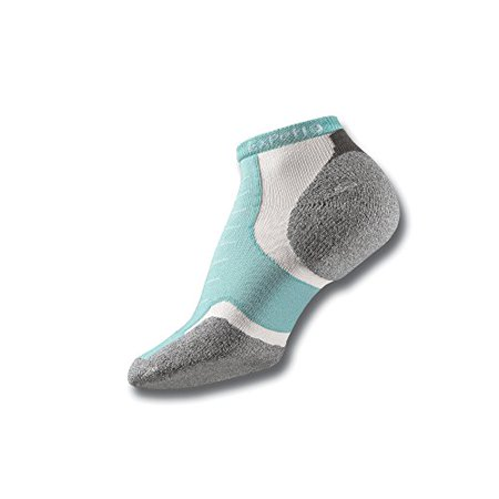 Experia Lite Padded Micro Mini Sock, Mint, US4