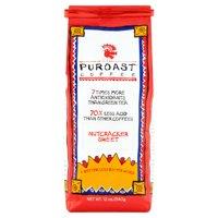 Puroast Nut Cracker Sweet Low Acid Ground Coffee, 12 oz Bag