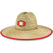 Nebraska Huskers New Era Tidal Straw Hat - Natural - OSFA
