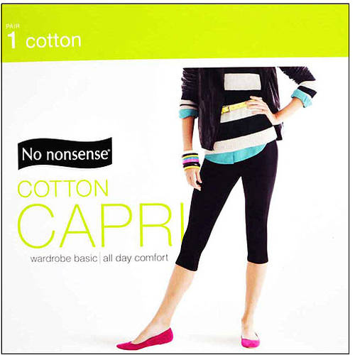 No Nonsense Cotton Capri Leggings