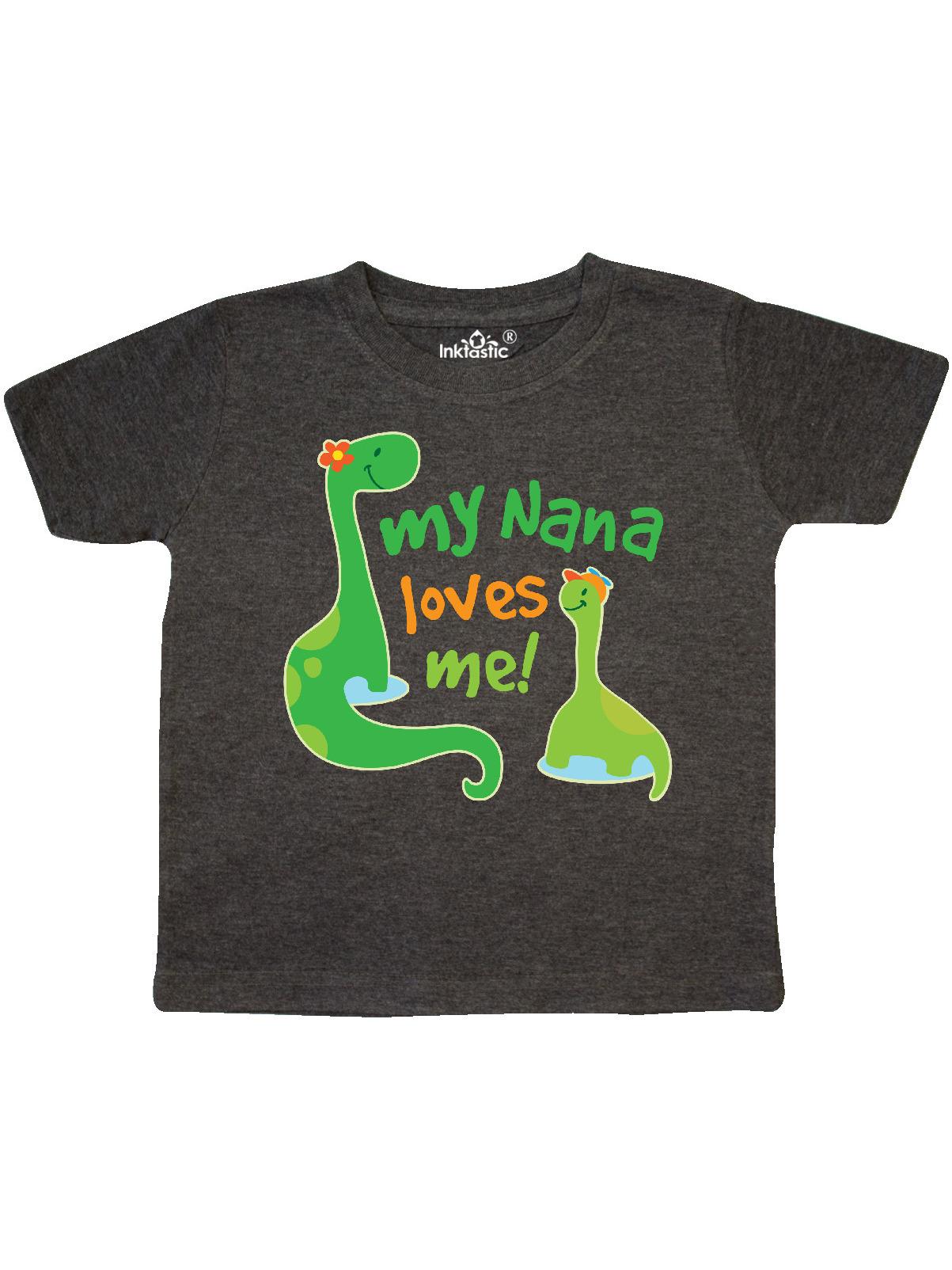 Cotton Boy /& Girl Clothes Custom Toddler T-Shirt Nana Loves Me