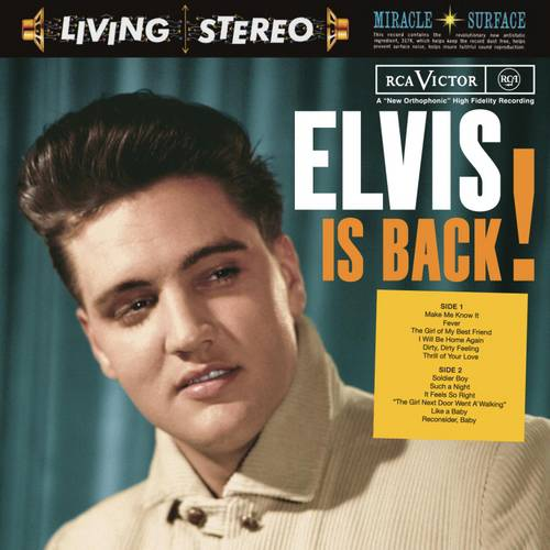 Elvis Is Back (Legacy Edition) (2CD)