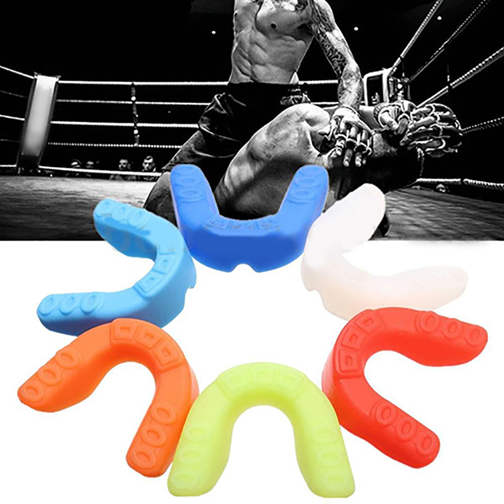 Girl12Queen Silicone Mouthguard Mouth Guard Gum Shield Boil Bite for All Sports MMA Boxing