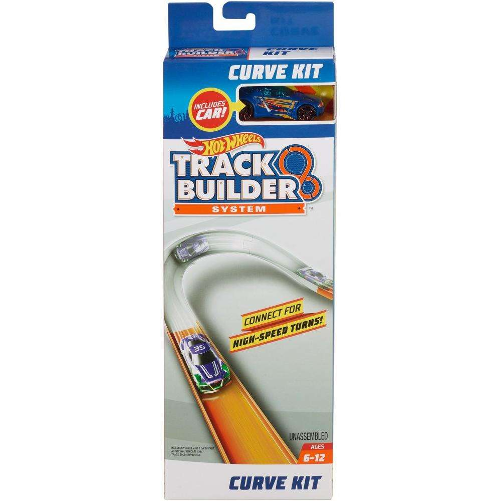 Hot Wheels Track Builder Curve Accessory