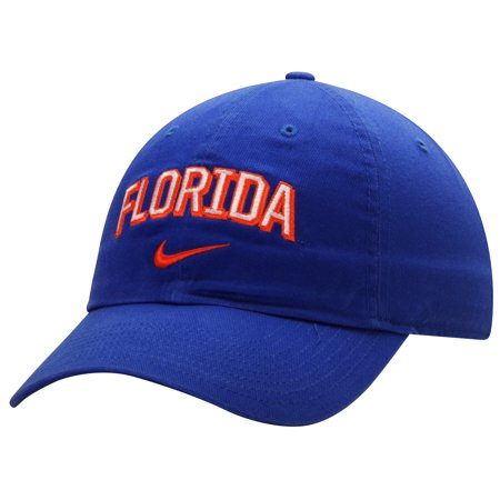 Florida Gators Nike Heritage 86 Wordmark Swoosh Adjustable Hat - Royal - OSFA