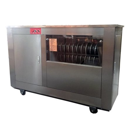 TECHTONGDA Commercial Pizza/Dough/Flour/Donuts/Pastry Maker Cabinet Steamed Bread 85-95g Rounder Divider (Best Bread Maker For Pizza Dough)