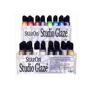 Tsukineko StazOn Studio Glaze .85oz Gold