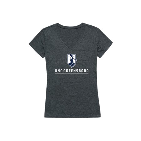 UNCG University of North Carolina at Greensboro Spartans Womens Institutional T-Shirt Heather Charcoal ()