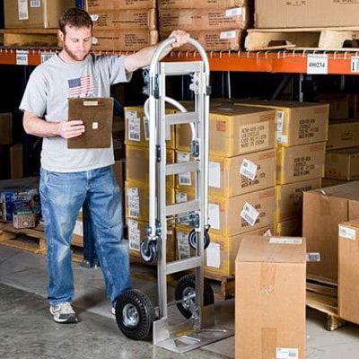 Wesco Spartan SR Convertible Hand Truck