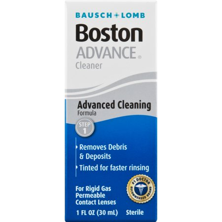 Bausch & Lomb Boston Advance Formula Cleaner, 1 fl oz (Hard Contact Lens Cleaner)