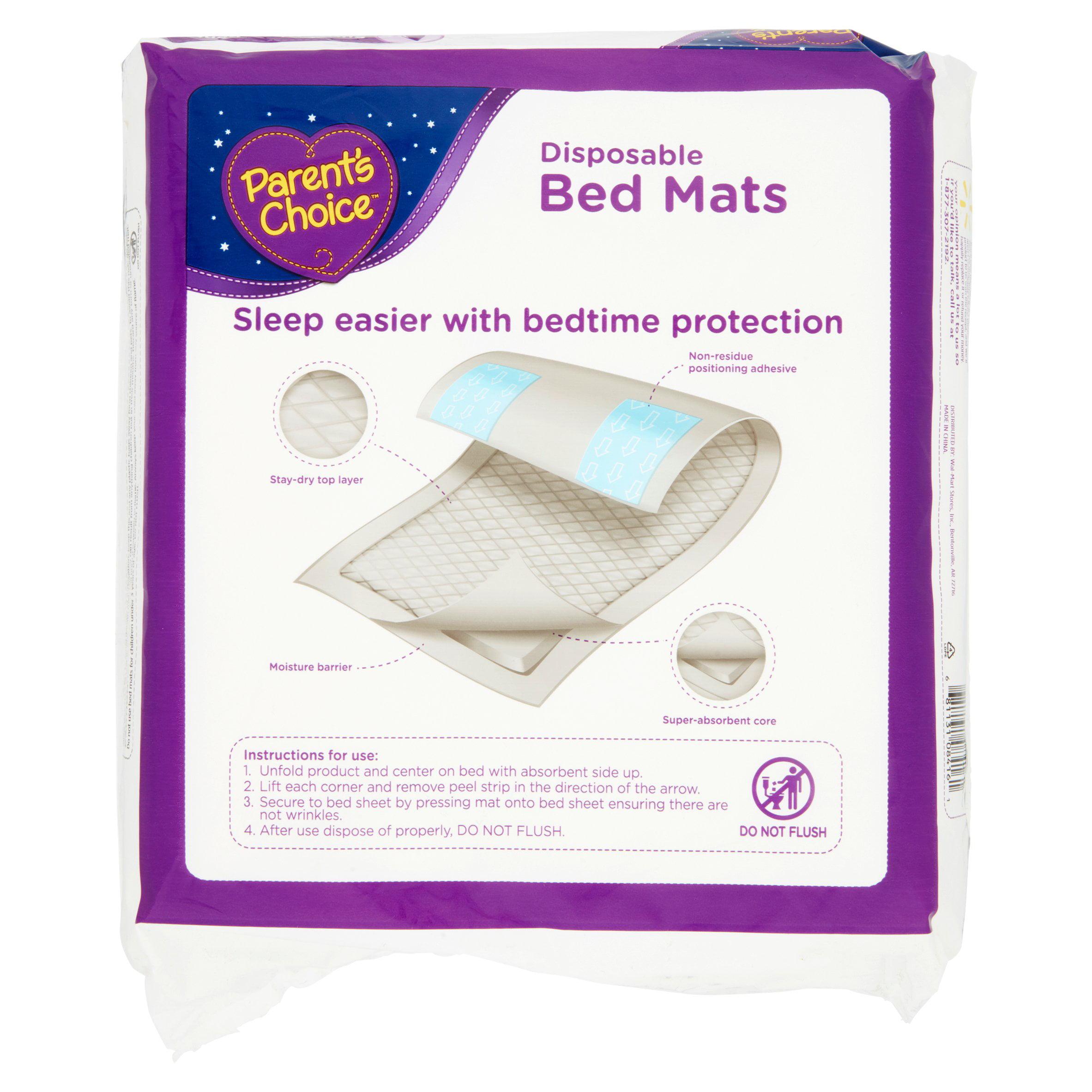 parent s choice disposable bed mats 9 count walmart com