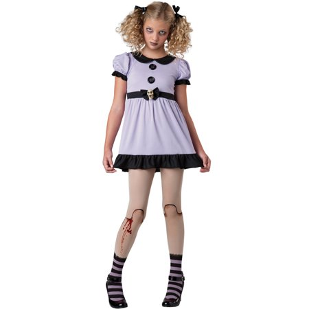 Halloween Town Girl Dead (Tween Dead Dolly Girl Costume by Incharacter Costumes LLC)