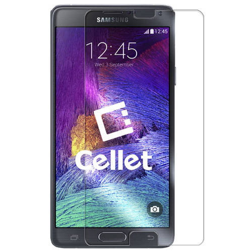 Cellet Premium Tempered Glass Screen Protector for Samsung Galaxy Note 4