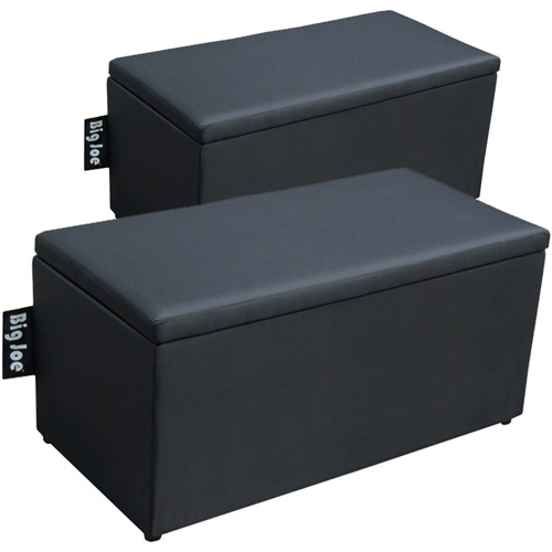 Big Joe 2-in-1 Bench Ottoman, Multiple Colors