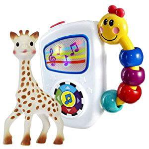 Vulli Sophie The Giraffe Teether with Baby Einstein Take Along Tunes by Vulli