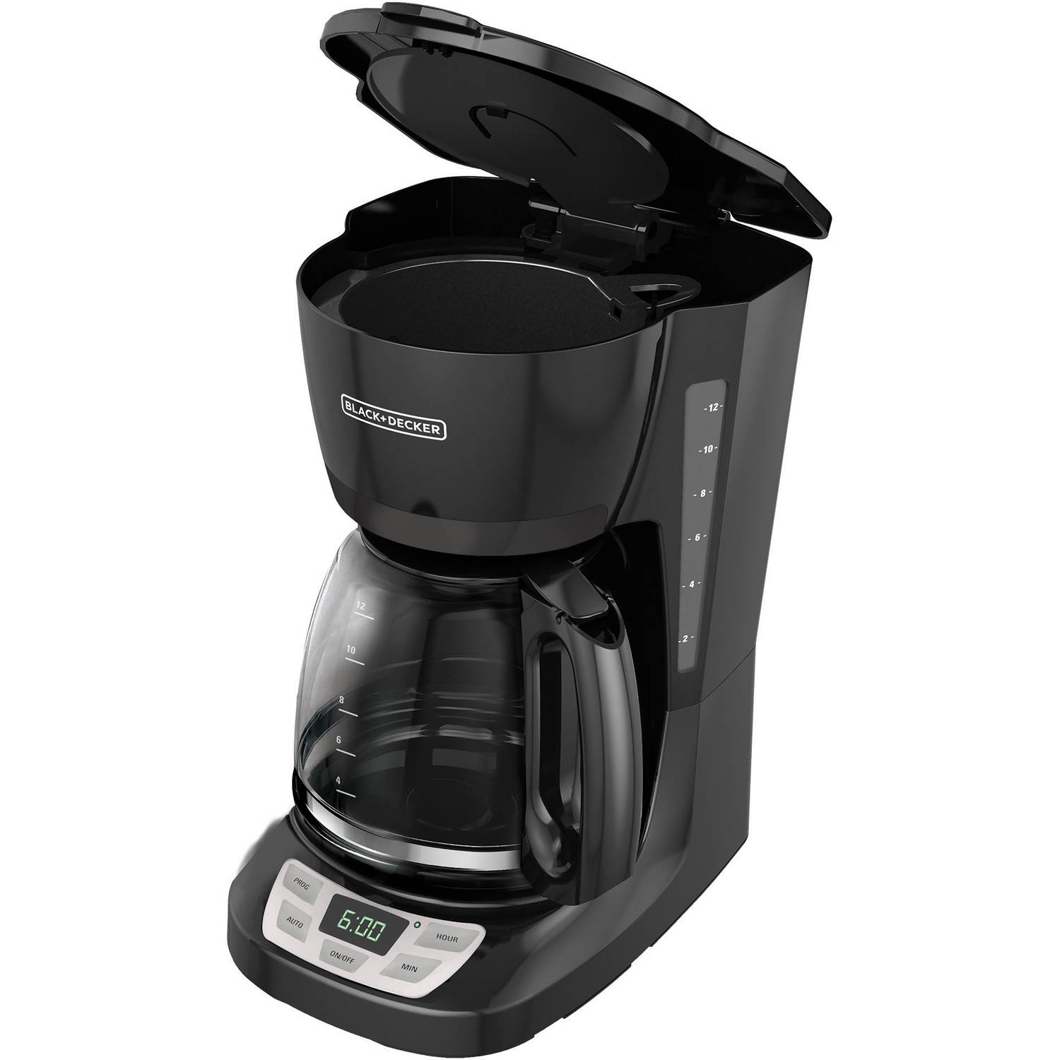 Black and decker coffee maker 12 cup programmable - Black Decker 12 Cup Programmable Coffee Maker Cm0960bfhp Walmart Com