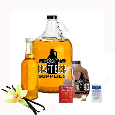 Vanilla Mead Making Refill Kit 3 Lbs Honey Homebrew Recipe Yeast and