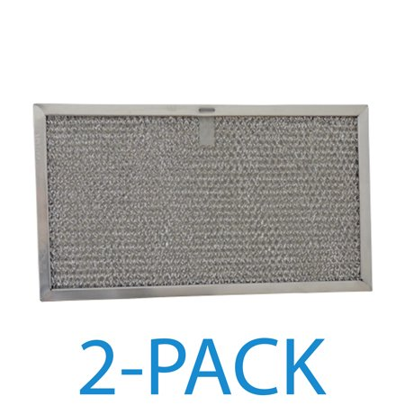 Supco RHF0608 Range Hood Filter (2-Pack) Grease filter specifically designed to fit Broan, and Whirlpool range hoods and microwave ovens.