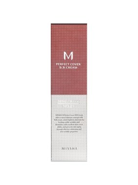 MISSHA Perfect Cover BB Cream No 21 Light Beige, 1.69 Oz