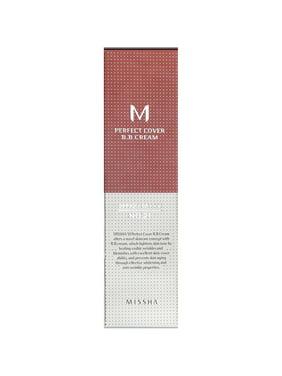 MISSHA Perfect Cover BB Cream No 21 Light Beige, 1.69 Oz