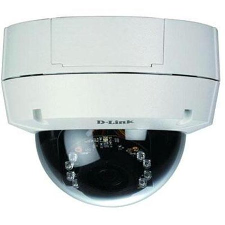HD DAY & NIGHT VANDAL-PROOF FIXED DOME NETWORK CAMERA