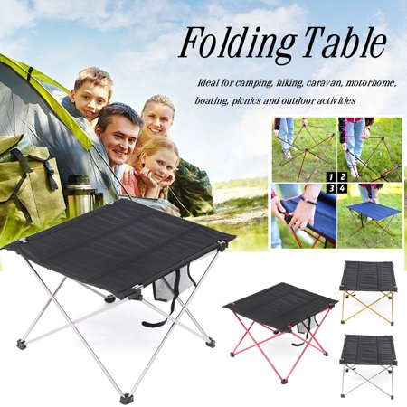 Folding Table Oxford Fabric Table with Bag Outdoor Camping Hiking Picnic
