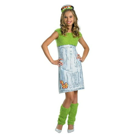Costumes For All Occasions Dg24887J Sesame St Oscar Tween - Oscar The Grouch Costumes