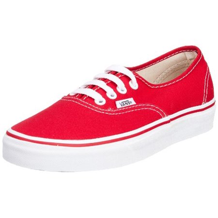 Vans VN-0EE3RED: Unisex Authentic Skate Red Unisex Sneakers (8.5 US Men 10 US Women, Red) ()