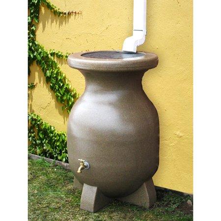 Kyoto 55 Gallon Sand-Stone-Look Rain Barrel