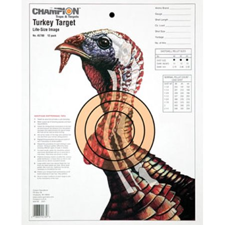 Champion Practice Targets 45780 Turkey Lifesize (12