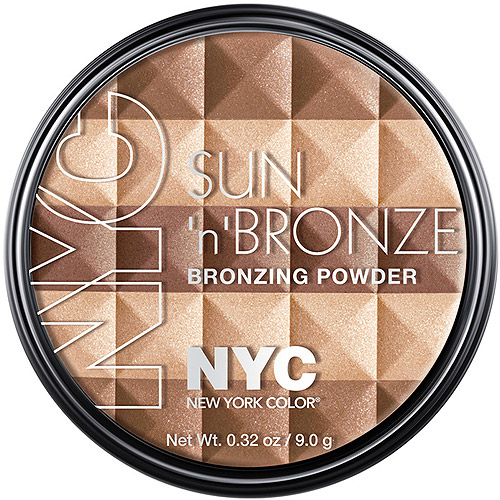 New York Color Sun 'N' Brown Bronzing Powder, Coney Island Glow, 0.32 oz