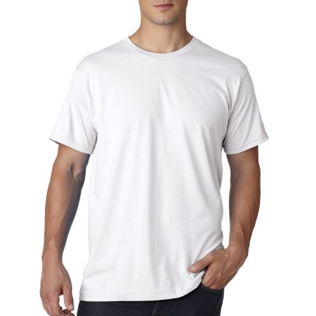 e8307ee9 Bayside - Bayside B5000 Men's Simple Jersey Cotton Tee Shirt - Walmart.com