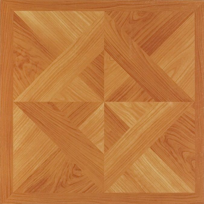 Achim Nexus Classic Light Oak Diamond Parquet 12x12 Self Adhesive Vinyl Floor Tile - 20 Tiles/20 sq. ft.