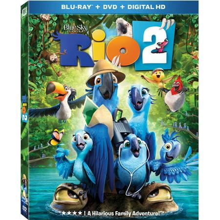 Rio 2  Blu Ray   Dvd   Digital Copy