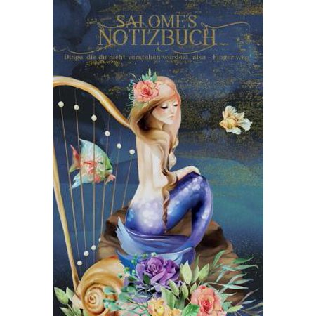 Salome's Notizbuch, Dinge, die du nicht verstehen w?rdest, also - Finger weg!: Personalisiertes Heft mit Meerjungfrau Paperback (Meerjungfrau Sonnenbrille)