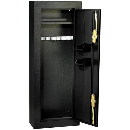 Homak 8-Gun Steel Gun Cabinet