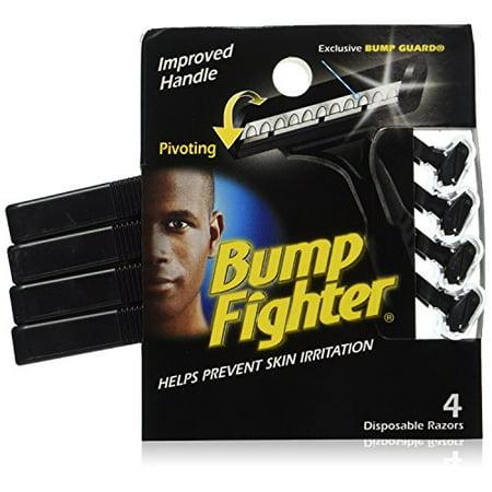 Bump Fighter Razors, Disposable ‑ 4 razors