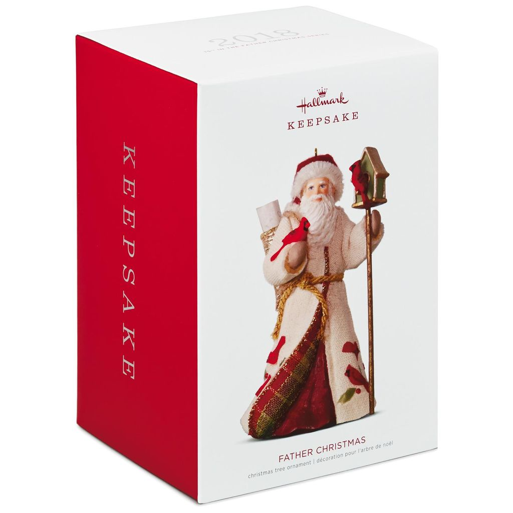 Hallmark Keepsake 2018 Happy Memories Father Christmas Ornament