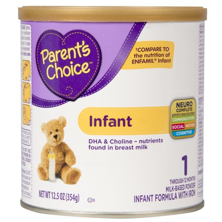 Parents Choice Infant Formula With Iron  12 5 Oz