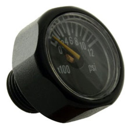 - Paintball Micro Gauge 1200 PSI, By Invert