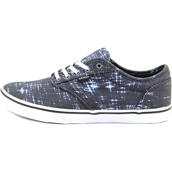77094367e111 Vans - Vans Atwood Low Round Toe Canvas Skate Shoe - Walmart.com
