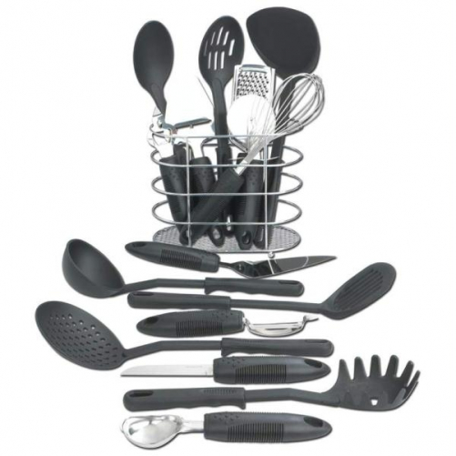 Maxam KTOOL172 17 pieces Kitchen Tool Set