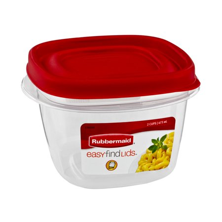 Rubbermaid Easy Find Lids   2 Cups  1 0 Ct