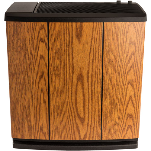 AIRCARE H12 300HB Console Humidifier for 3700 sq. ft., Light Oak by Essick Air