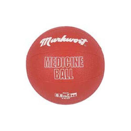 Rubber Medicine Training Ball from Markwort - 8.8 lbs/4 kg
