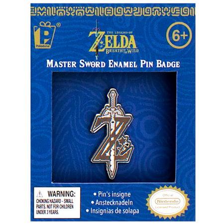 Legend of Zelda Breath of The Wild Master Sword Enamel Pin