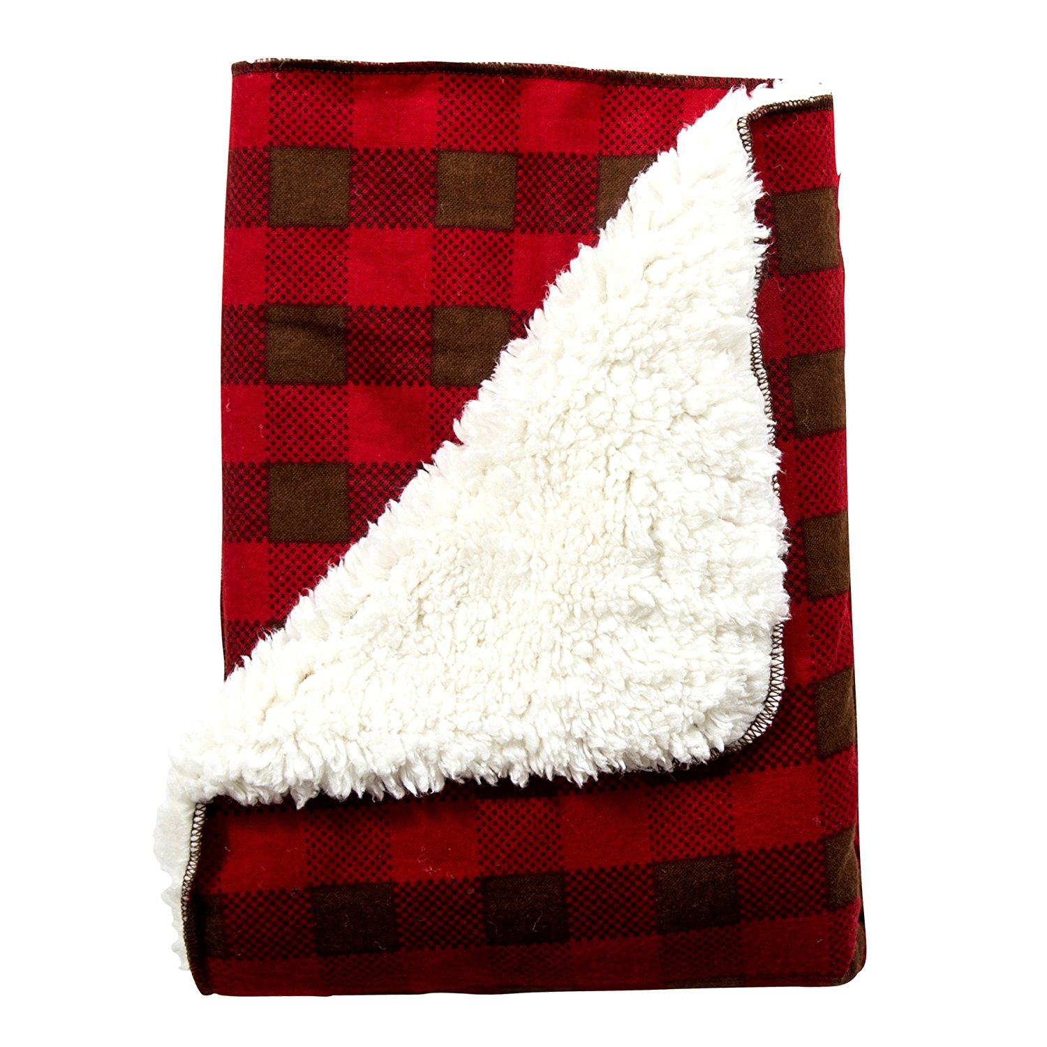 Trend Lab Northwoods Plush Receiving Blanket by Trend Lab